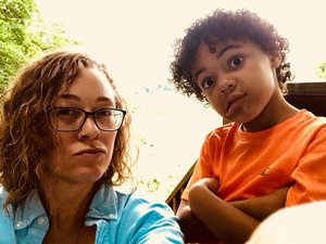 My nephew and I being super bad ass, summer 2018.
