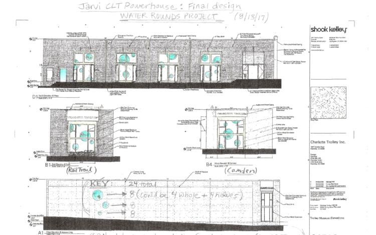 Jarvi's plan for CLT Powerhouse Studio: The Urban Eddy.