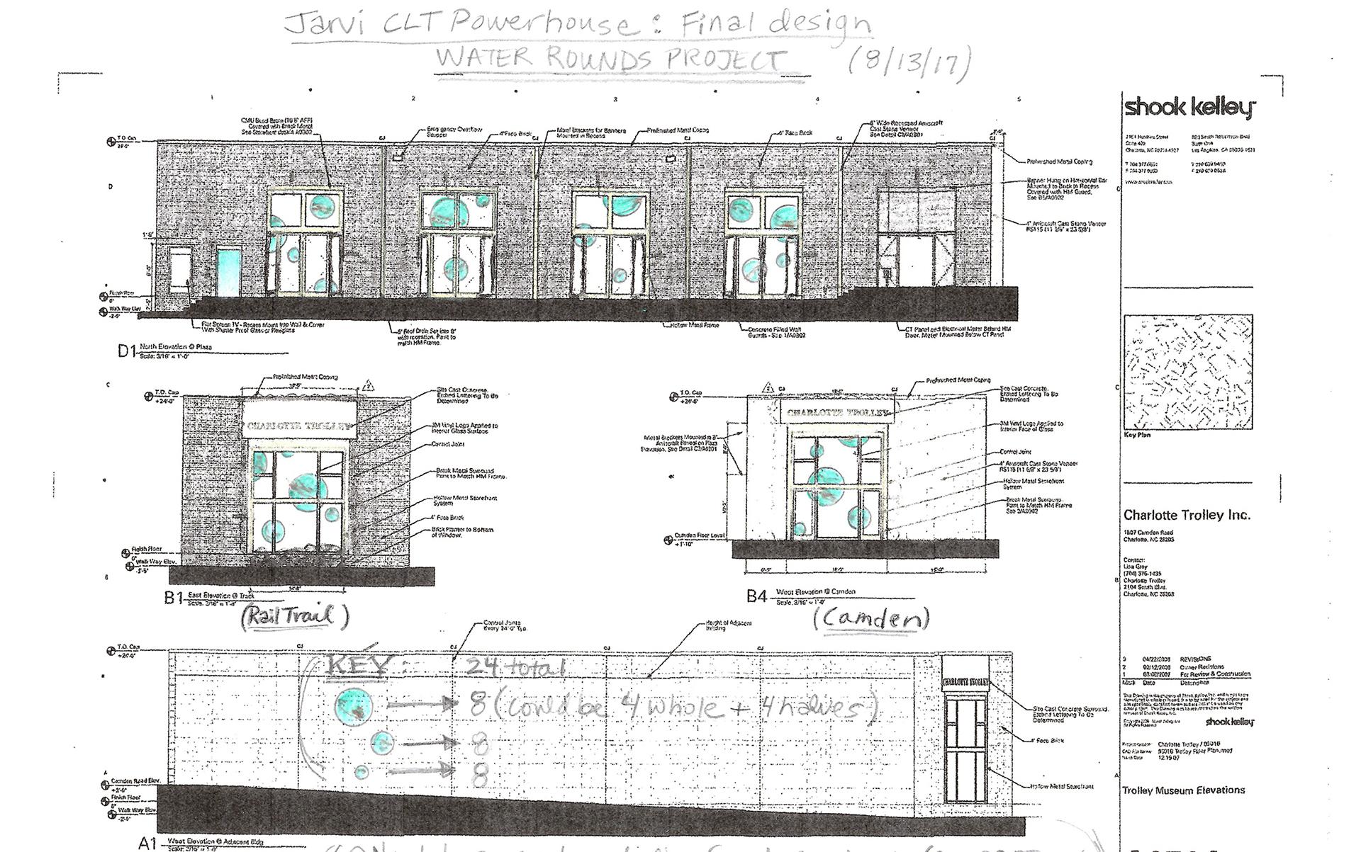 Artist's Final Design - CLT Powerhouse.