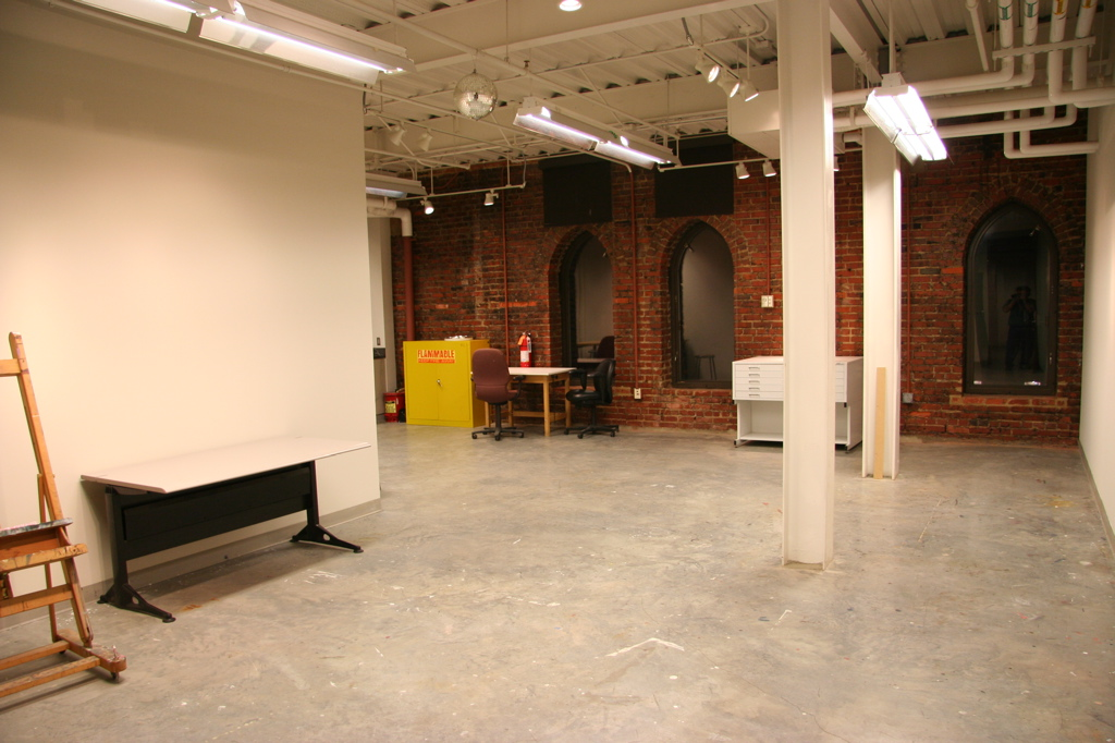 This sweet space (at  McColl Center for Art + Innovation ) is going to be my studio for four months starting in January 2019. When I was an AiR at McColl Center in 2010, it was first time I'd really experimented with abstract water-inspired paintings. That body of art ended up being my early glass work… as I started learning about kiln glass during second half of 2011.  Now, I'm finally at a place where I can create both paintings and my glass. My residency starting next month will be made up of lots of painting — exploring water through abstract painting. Follow the journey more closely on  INSTAGRAM :)