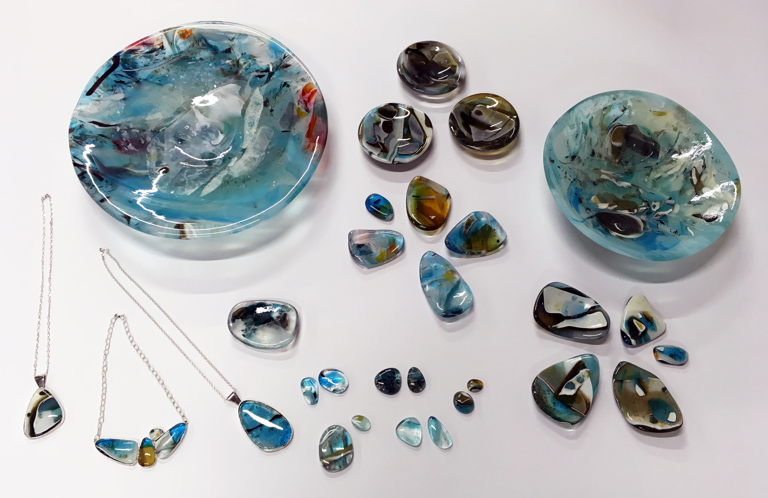 Studio pic — assortment of available water glass:)