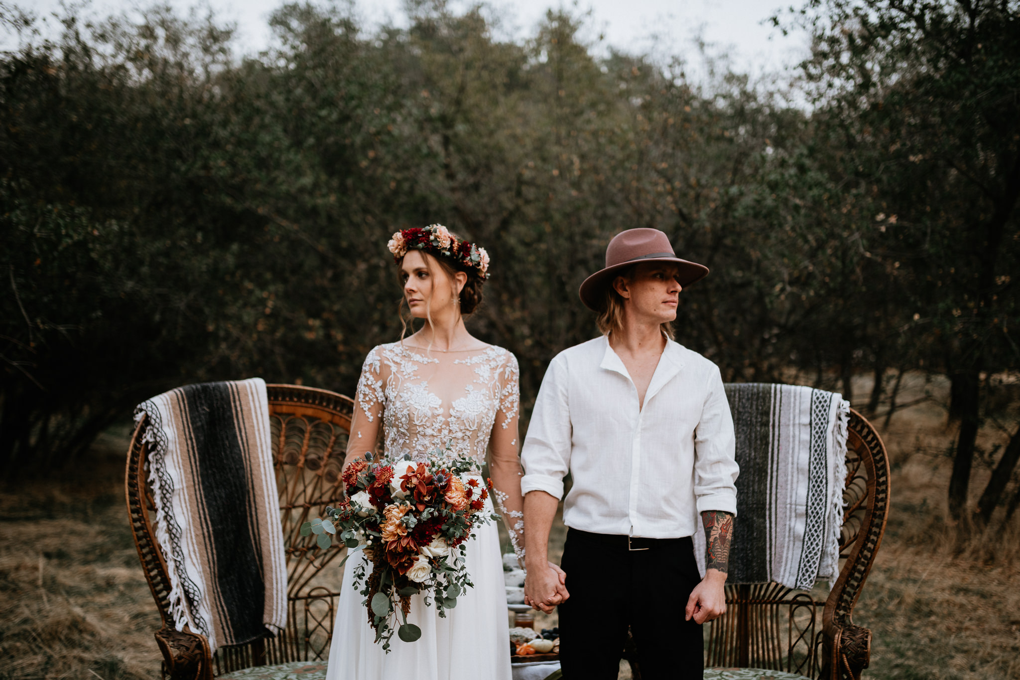 Styled Fall Bohemian Elopement