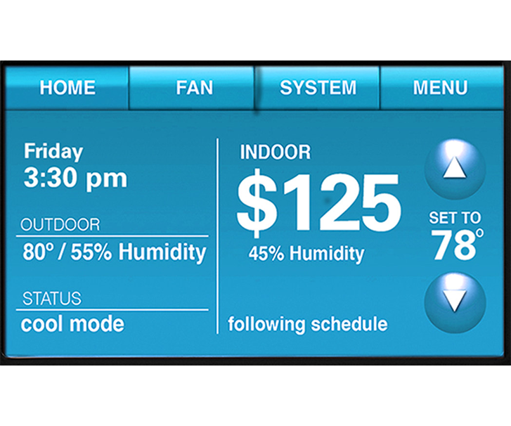 Smart Thermostat Rebate Up To $125.00 -