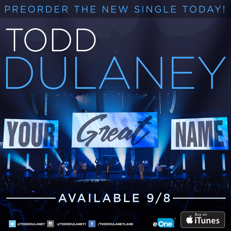 Hey family! LETS SHAKE THE EARTH WITH THIS ONE. Show your support for this anthem by pre-ordering below.  #YourGreatName
