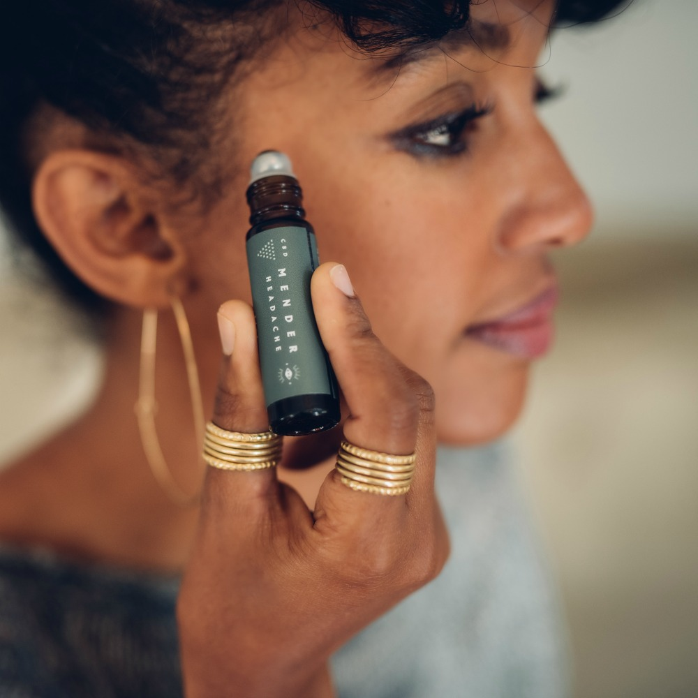 FabFitFunYour Guide to Beauty Oils: Legs, Lips, and Beyond - Apply this anti-inflammatory, CBD-infused rollerball, to relieve tension and cure pesky headaches. See the complete list of Summer favs >>