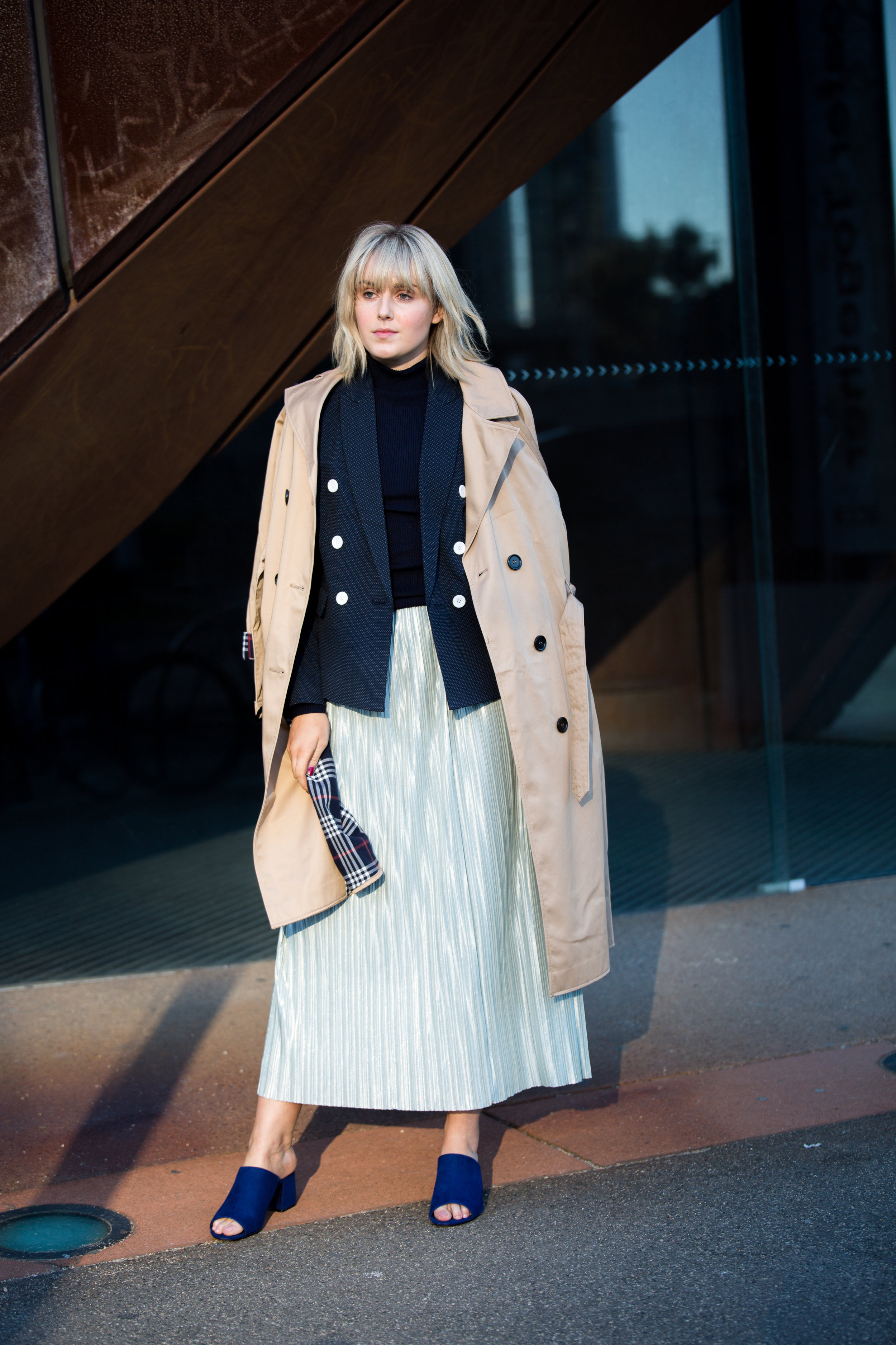 M&S pure-cotton-trench
