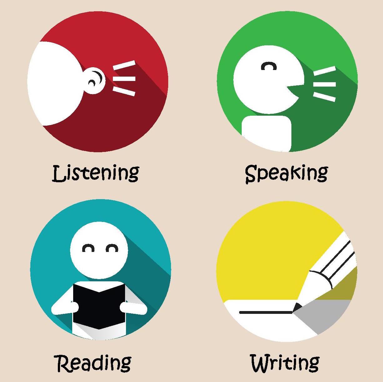 Listening Speaking Reading Writing