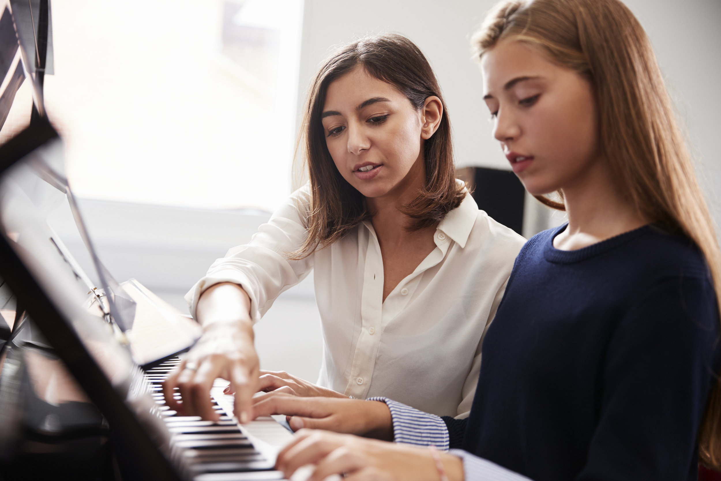 In Home Music Lessons in Reston -