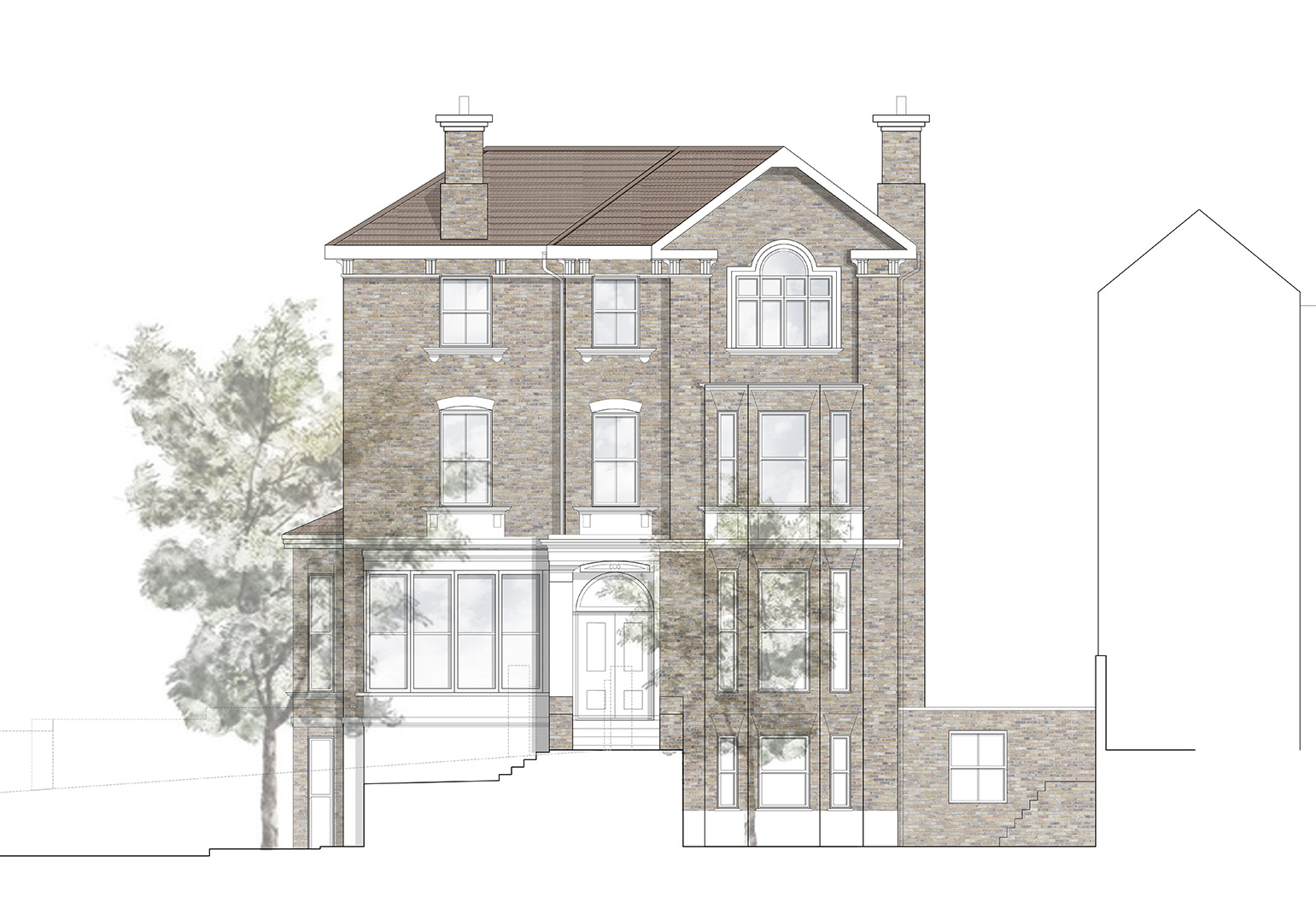 Barton House - View Project