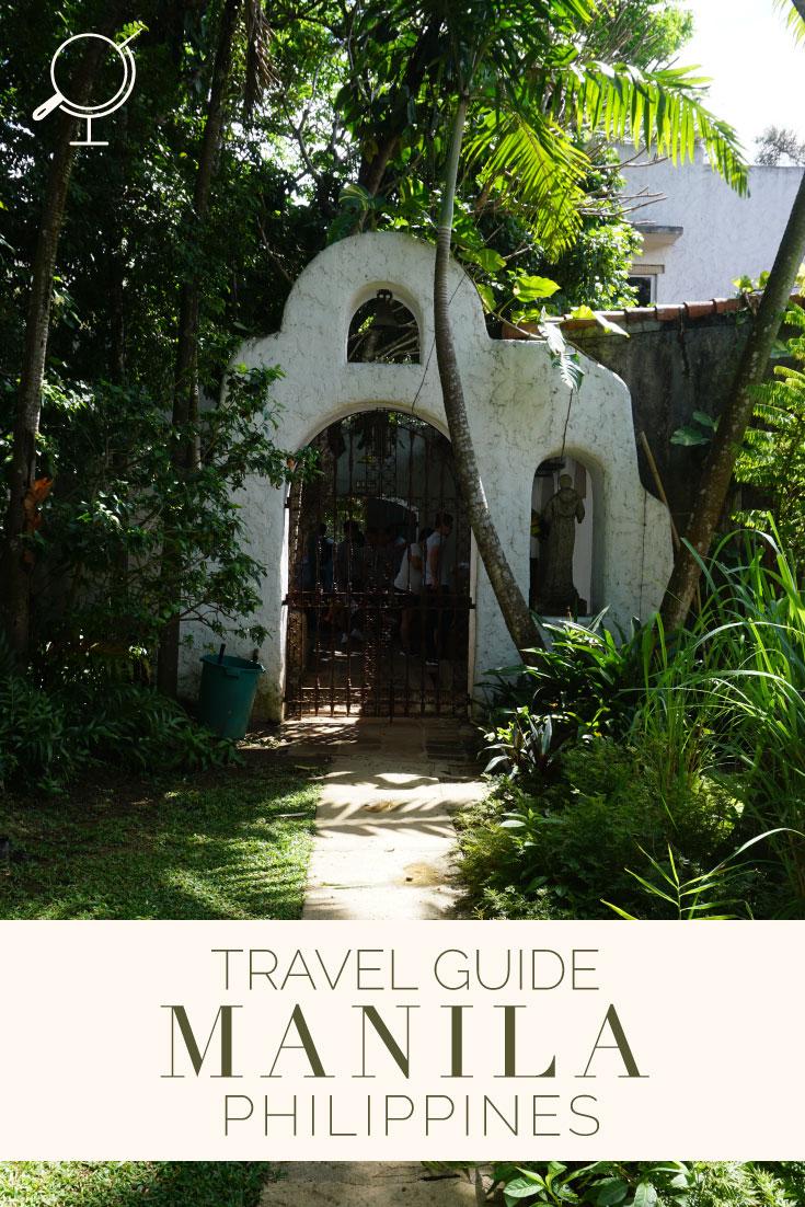 Travel Guide Manila Philippines