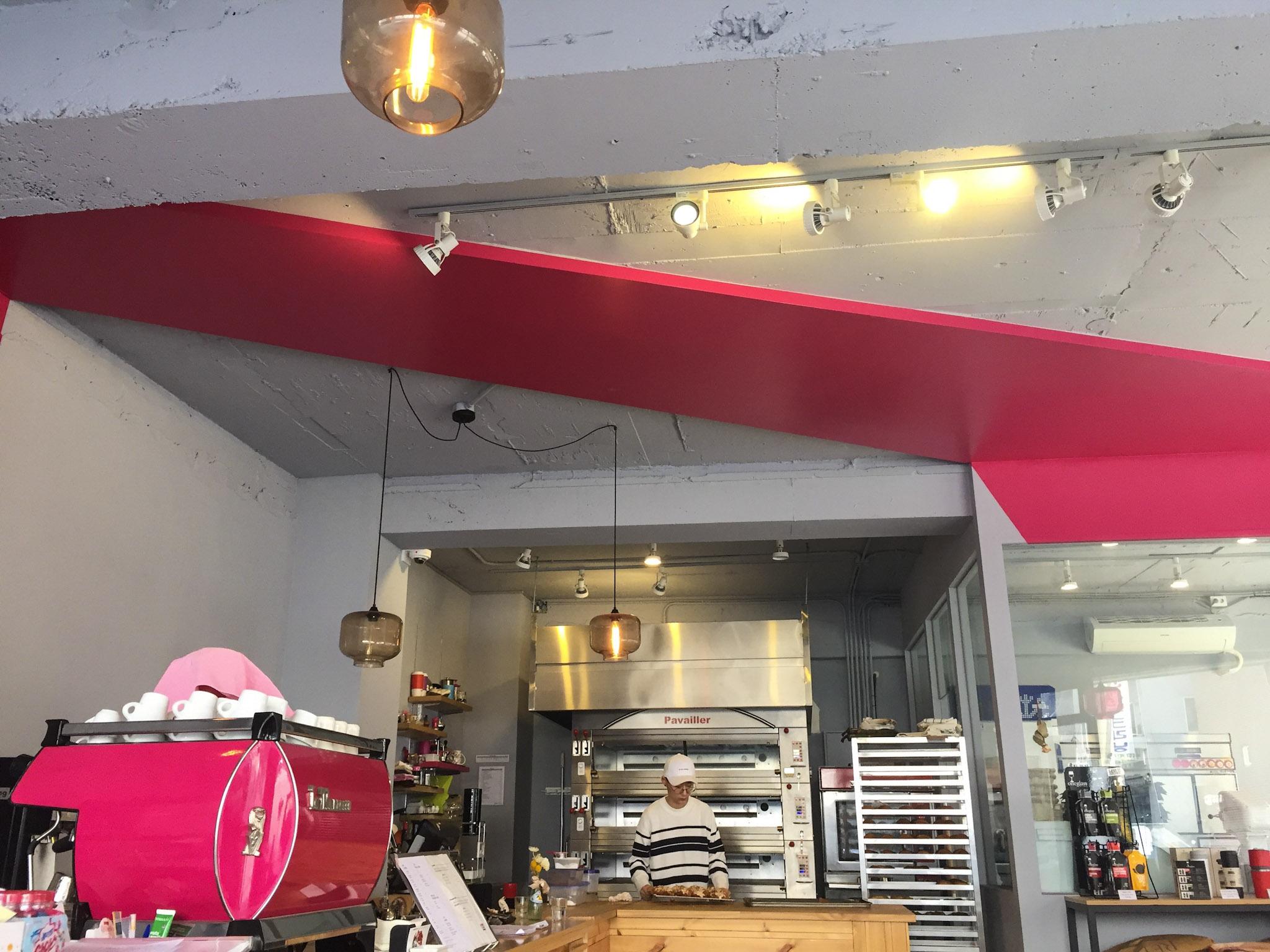 Seoul Bakery Pink