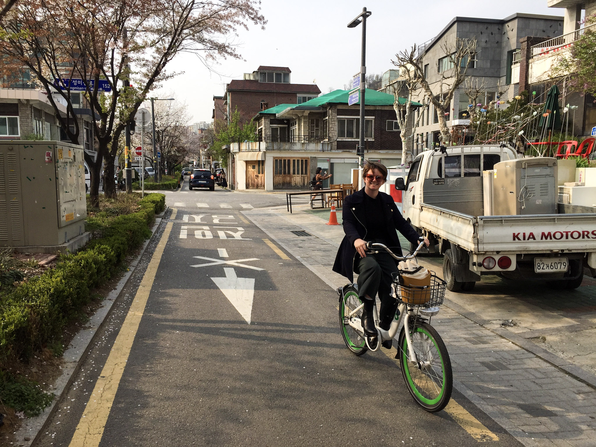 Seoul Bicycle Riding