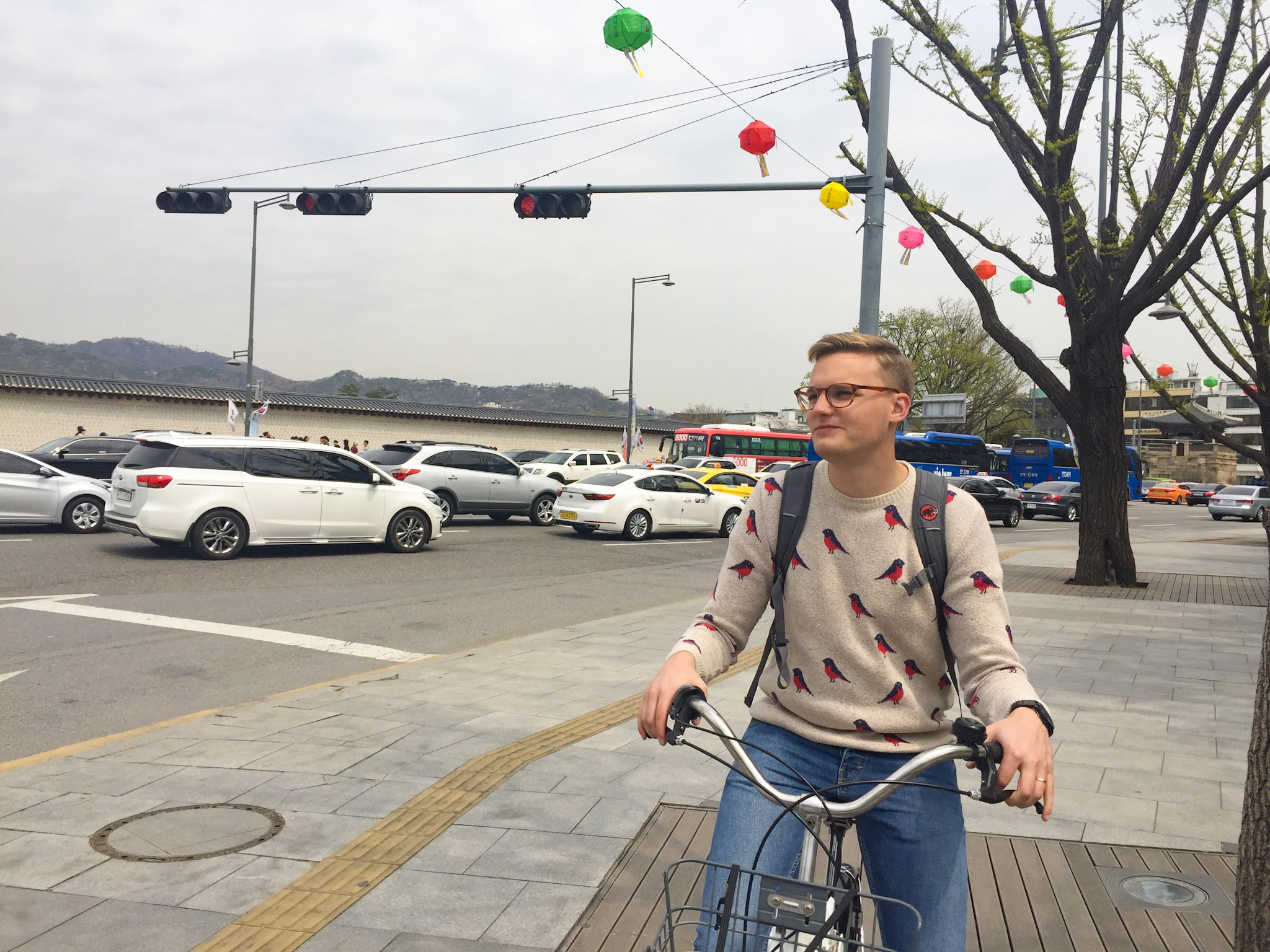 Seoul Bike Riding