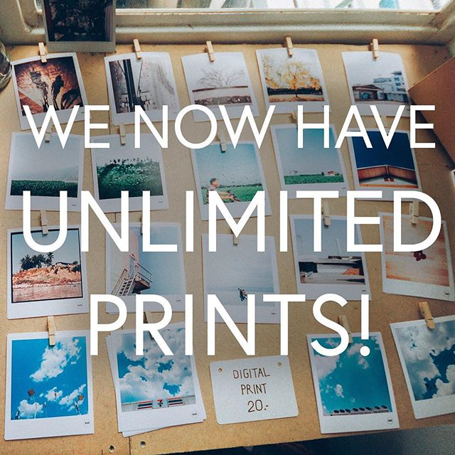 We now have UNLIMITED PRINTS with our Deluxe Package! Say goodbye to limits and book today!! #notjustvisualphotobooths