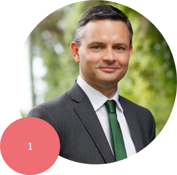 JAMES SHAW   Co-leader of the Green Party. Green Party spokesperson for Climate Change, Finance and Economic Development.