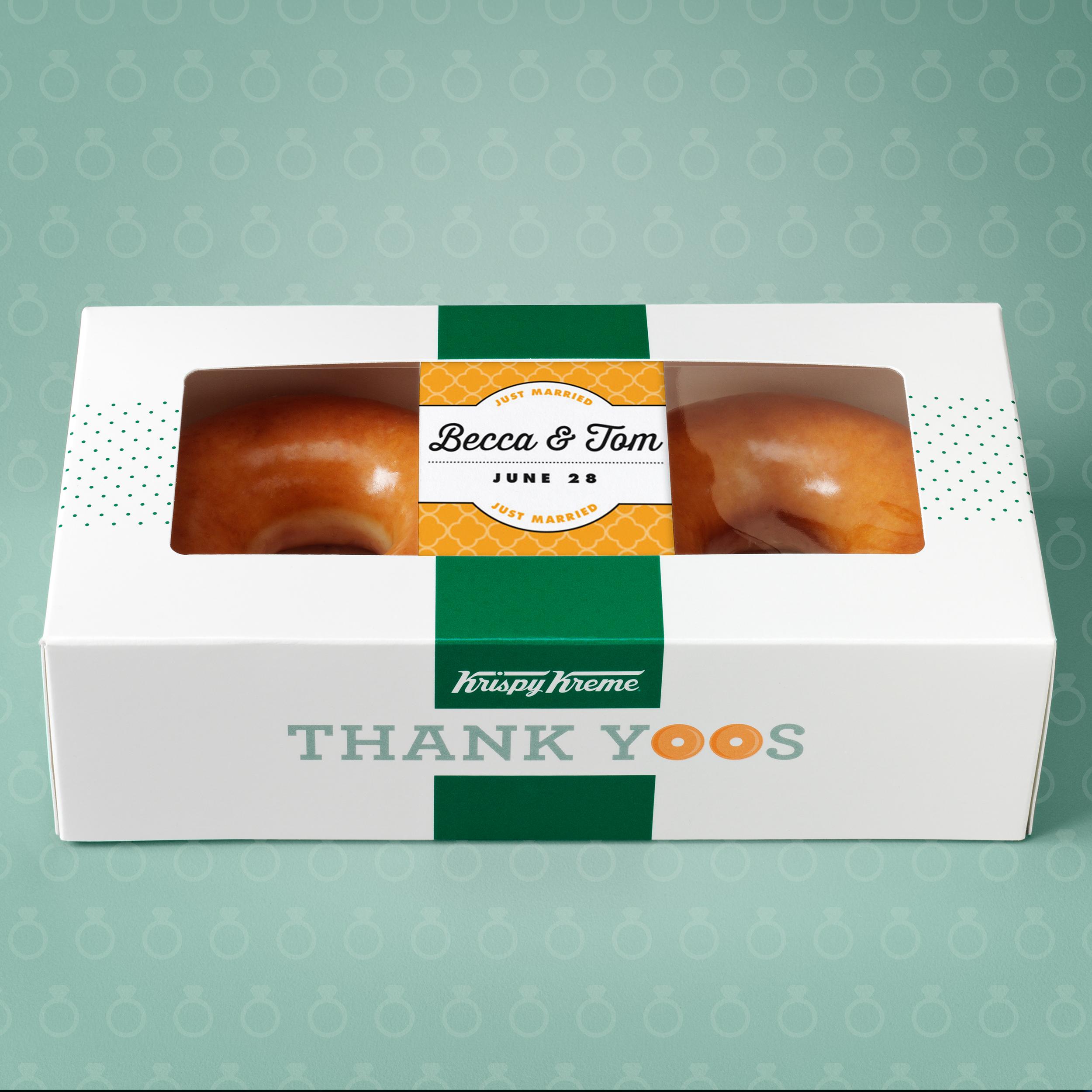 Krispy Kreme—Thank Yoos