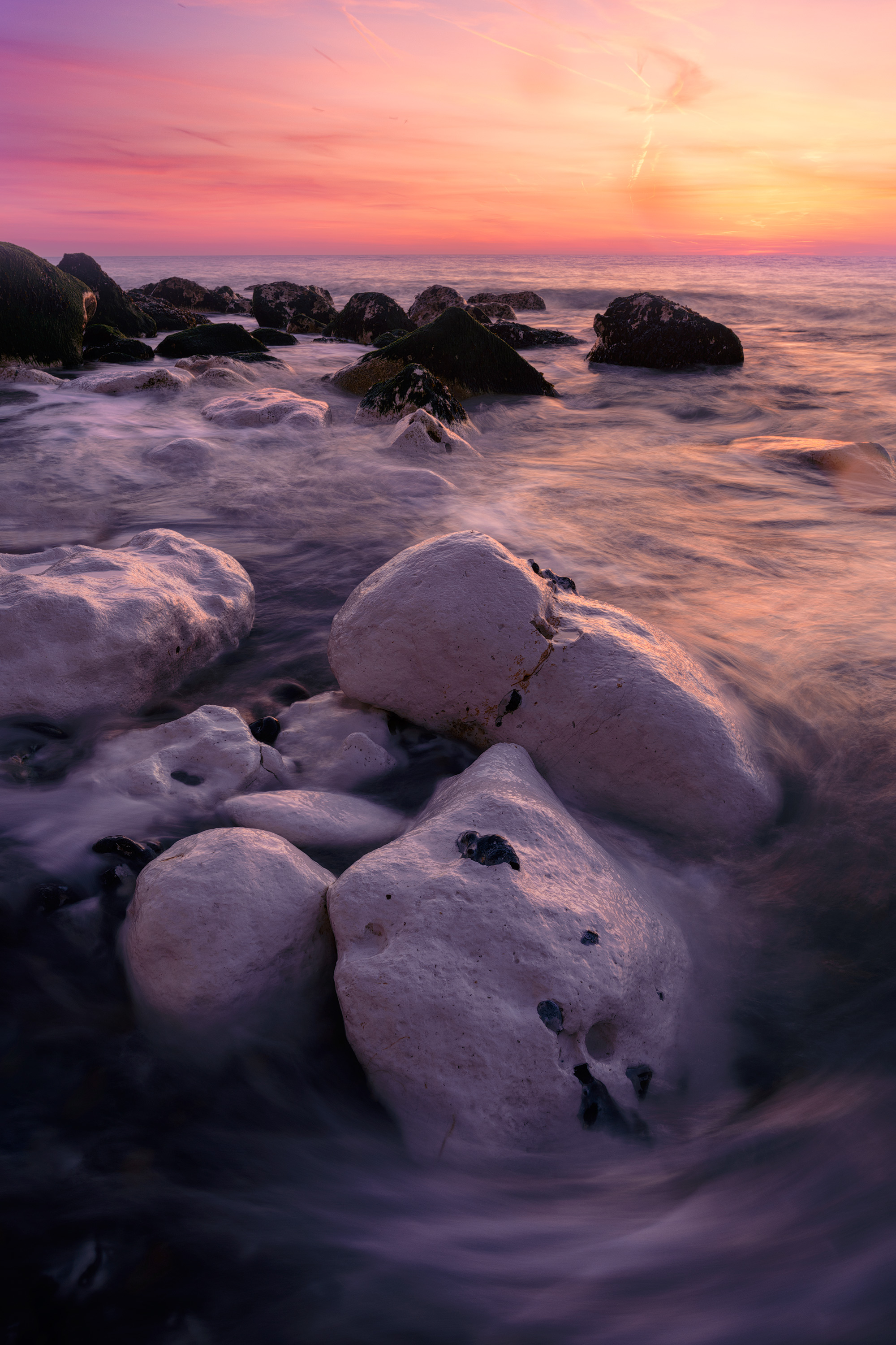 The Pastel shades of dawn