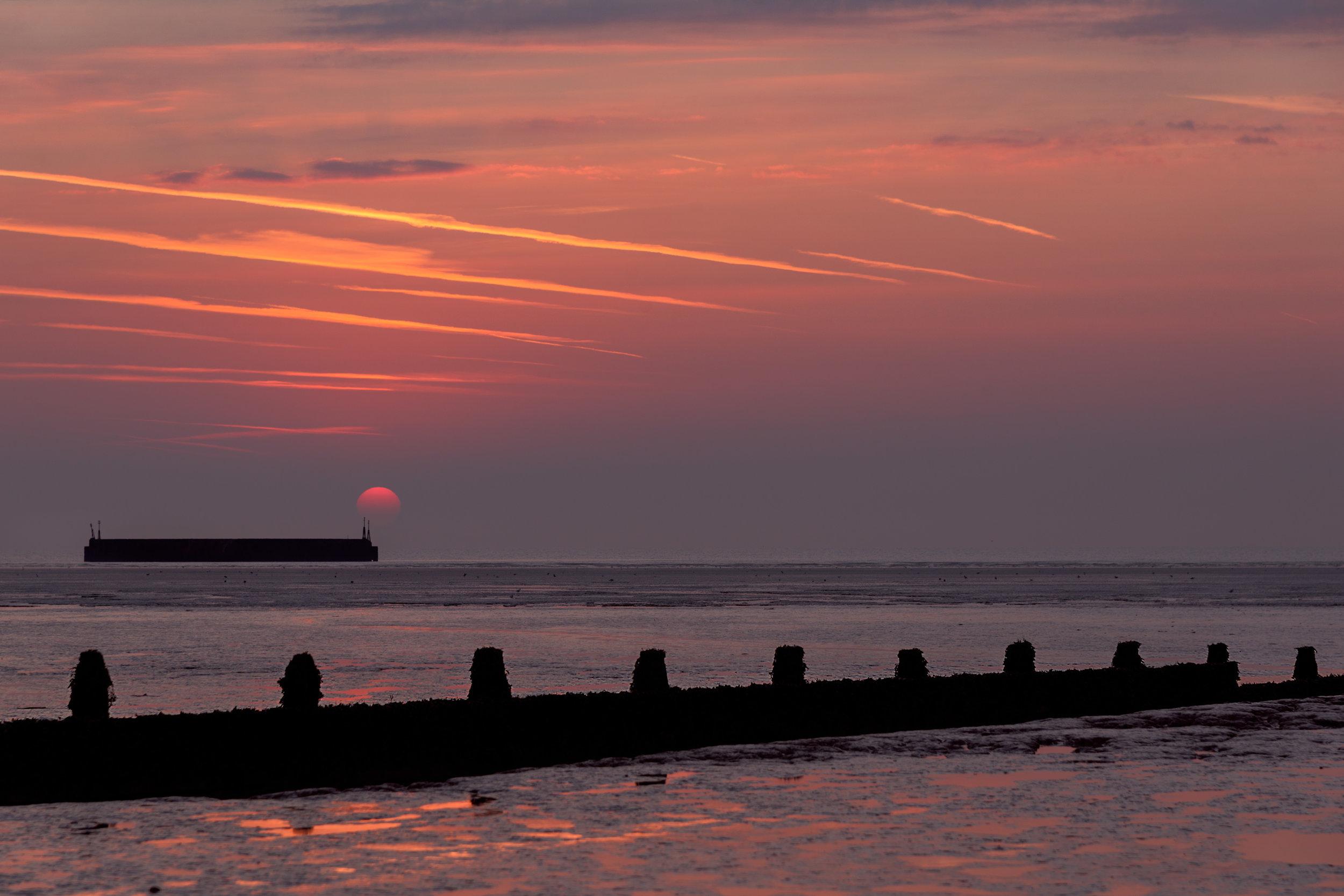 Sunrise at Littlestone-On-Sea in Kent