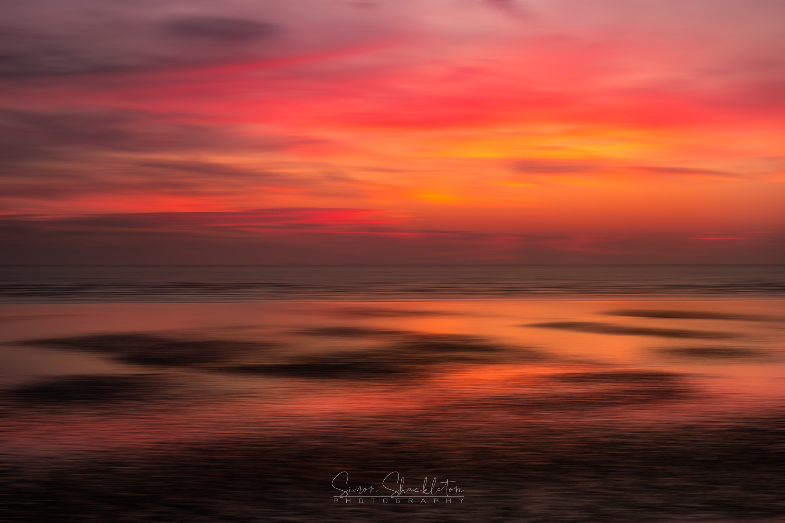Littlestone Motion Blur Sunrise