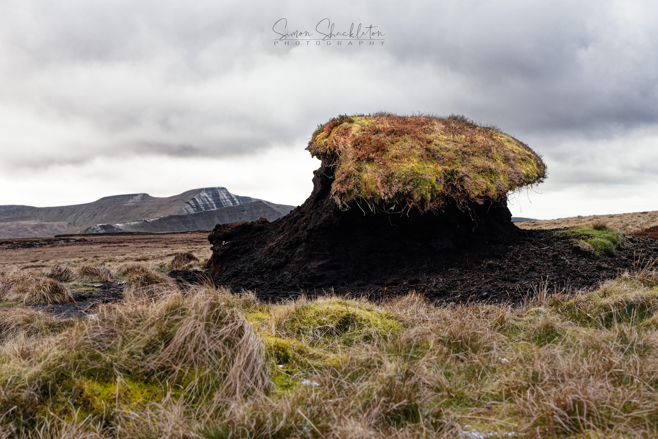 Peat Stack, Brecon Beacons.