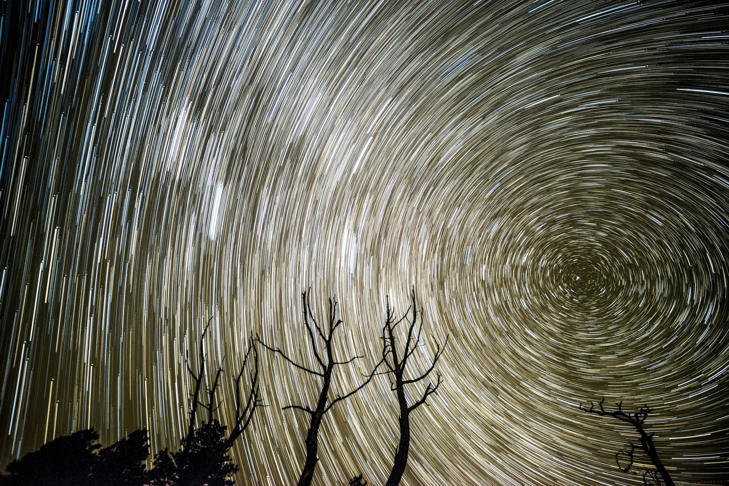 Star Trails, Grand Canyon.
