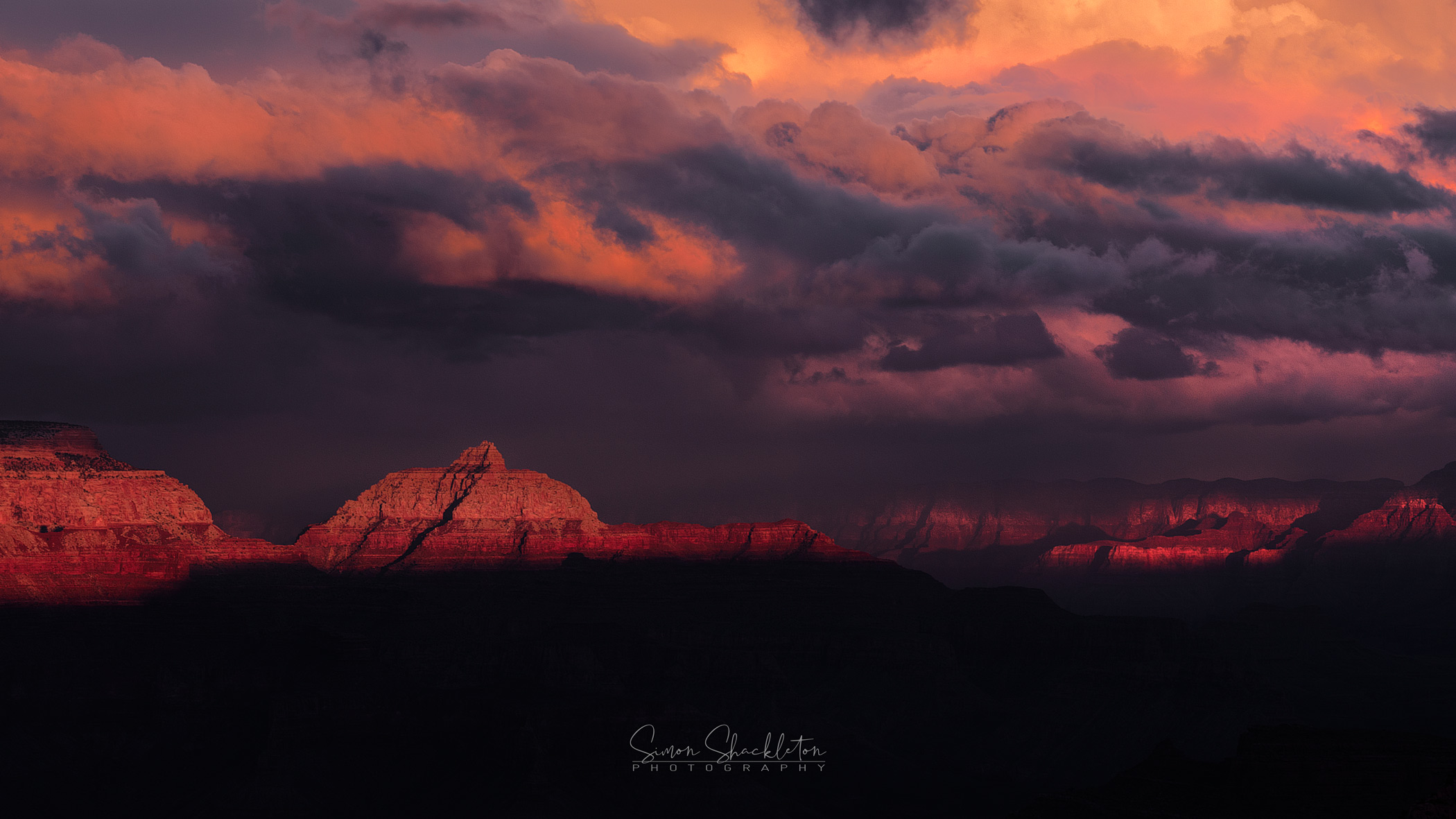 The Dying of the Light - a Grand Canyon Sunset.