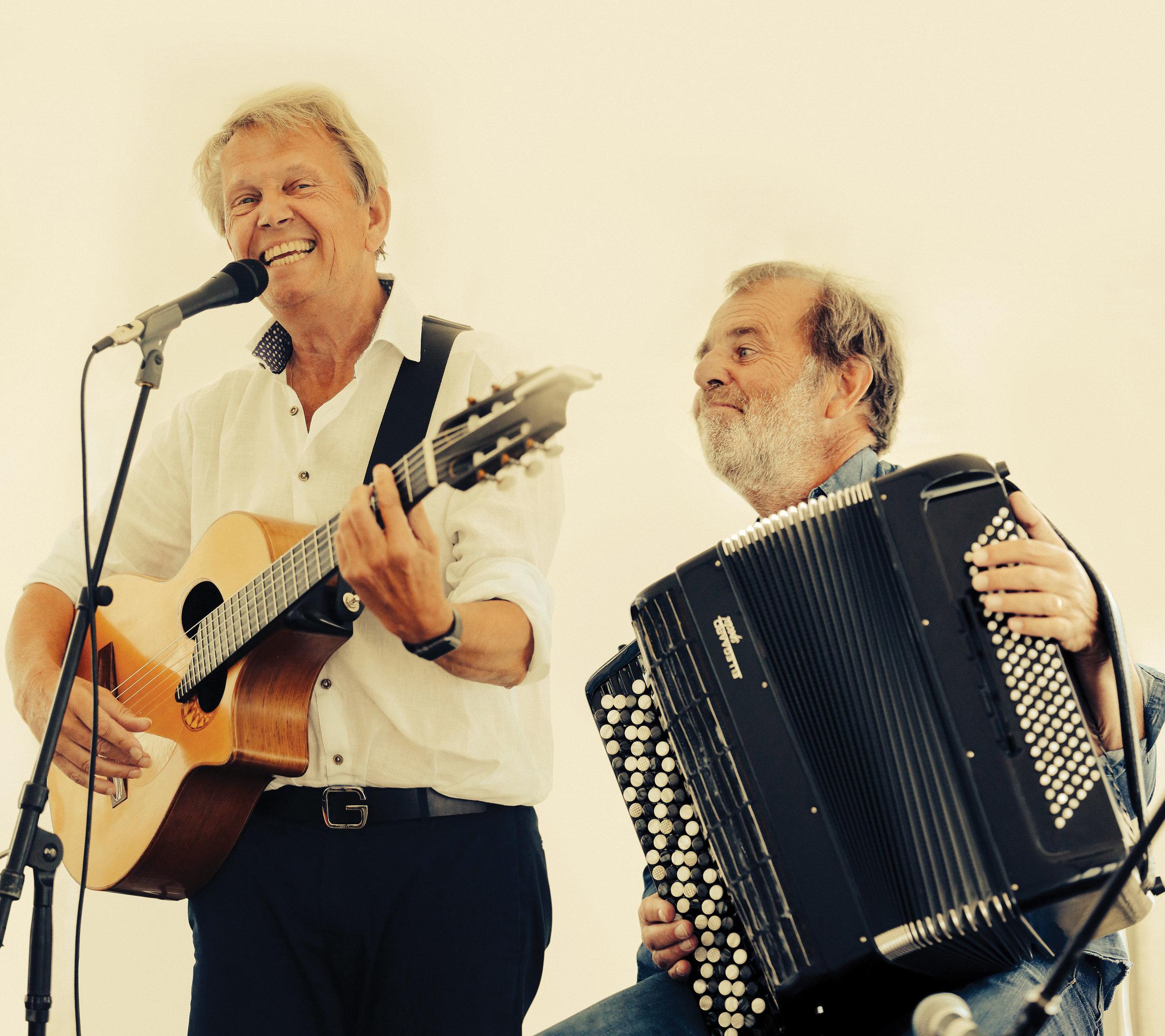 Mikael & Lars Holm      Foto: Dan Olshed