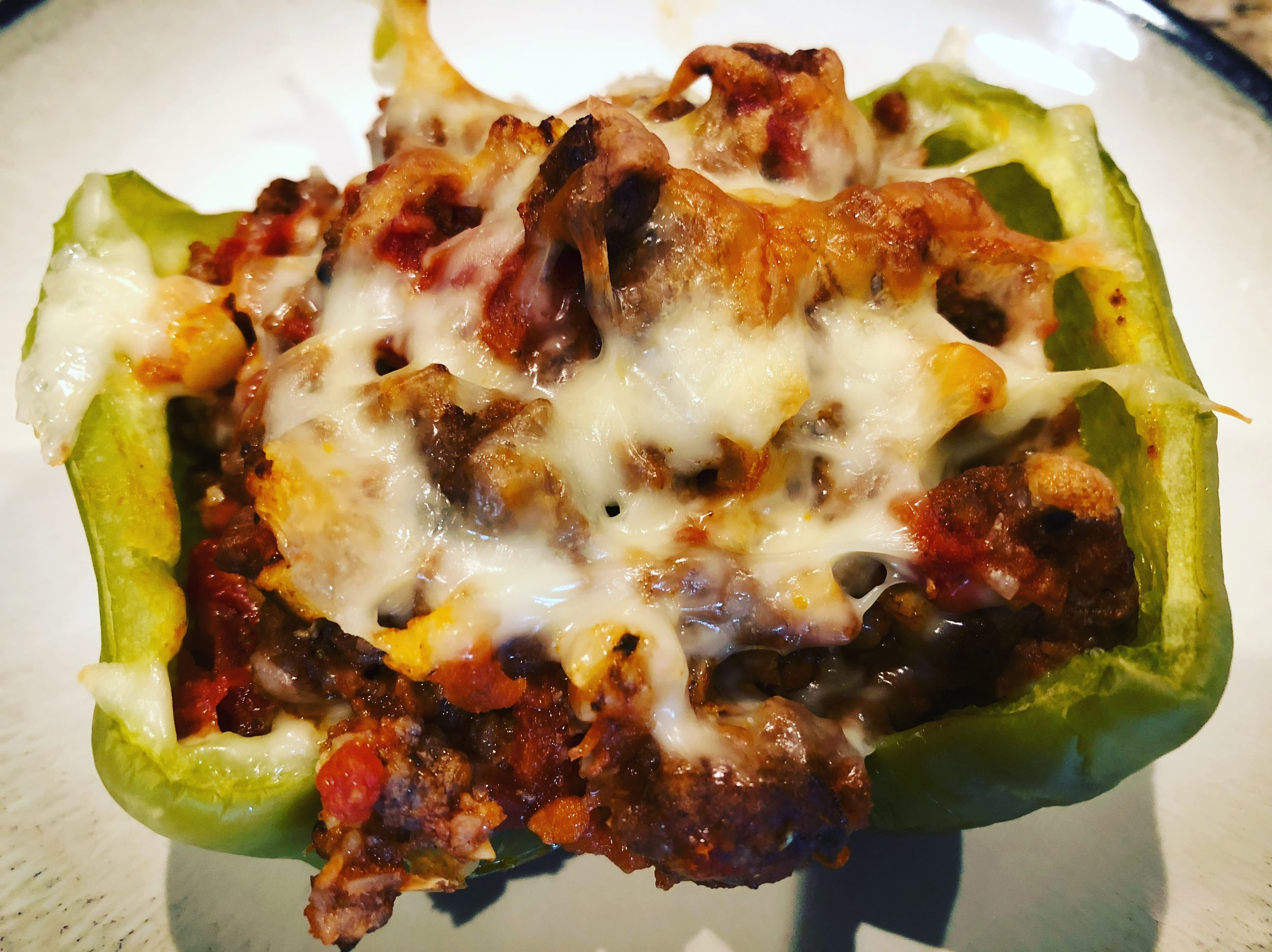 Keto Stuffed Peppers ketogenic diet