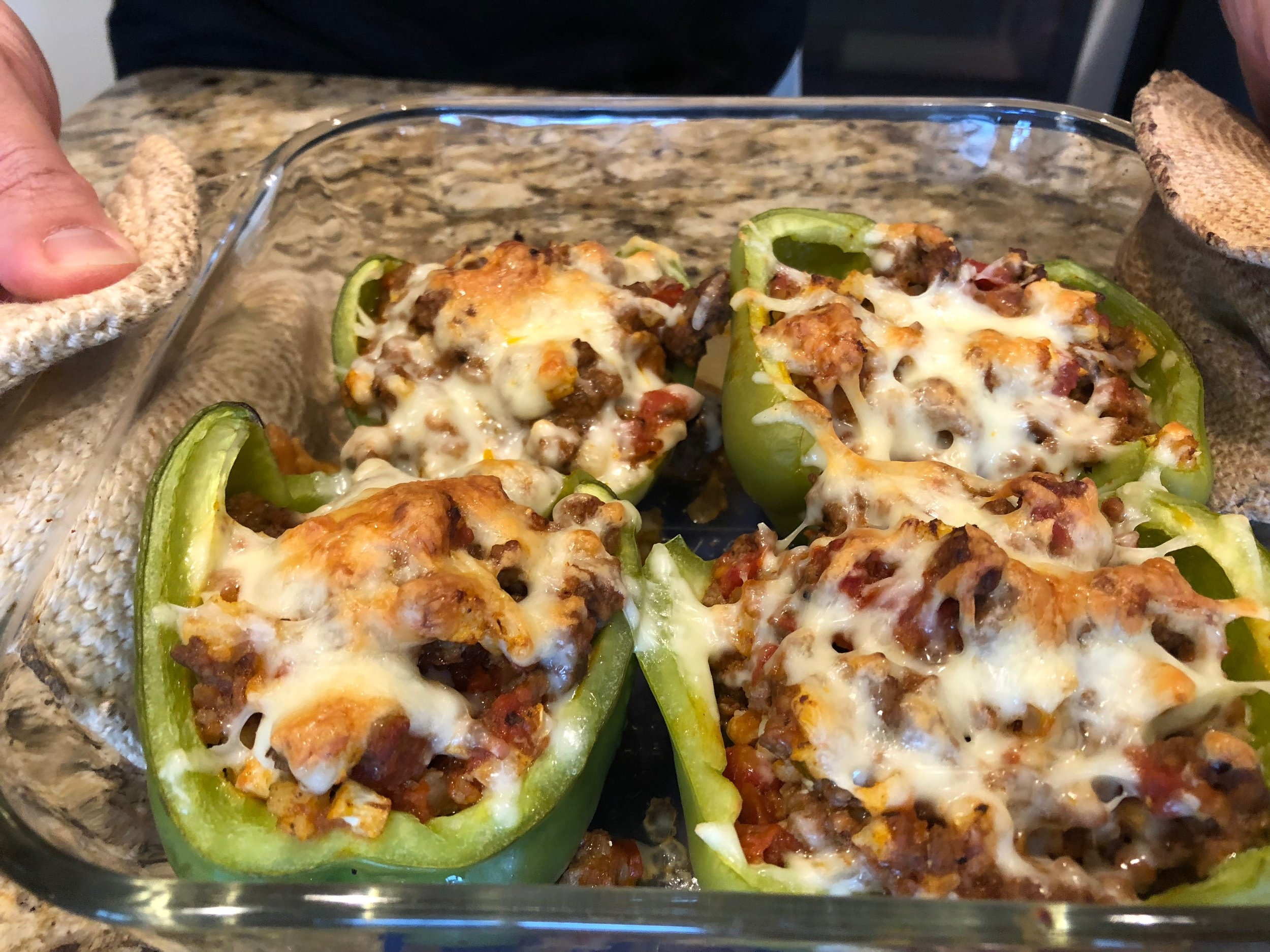 keto diet stuffed bell peppers