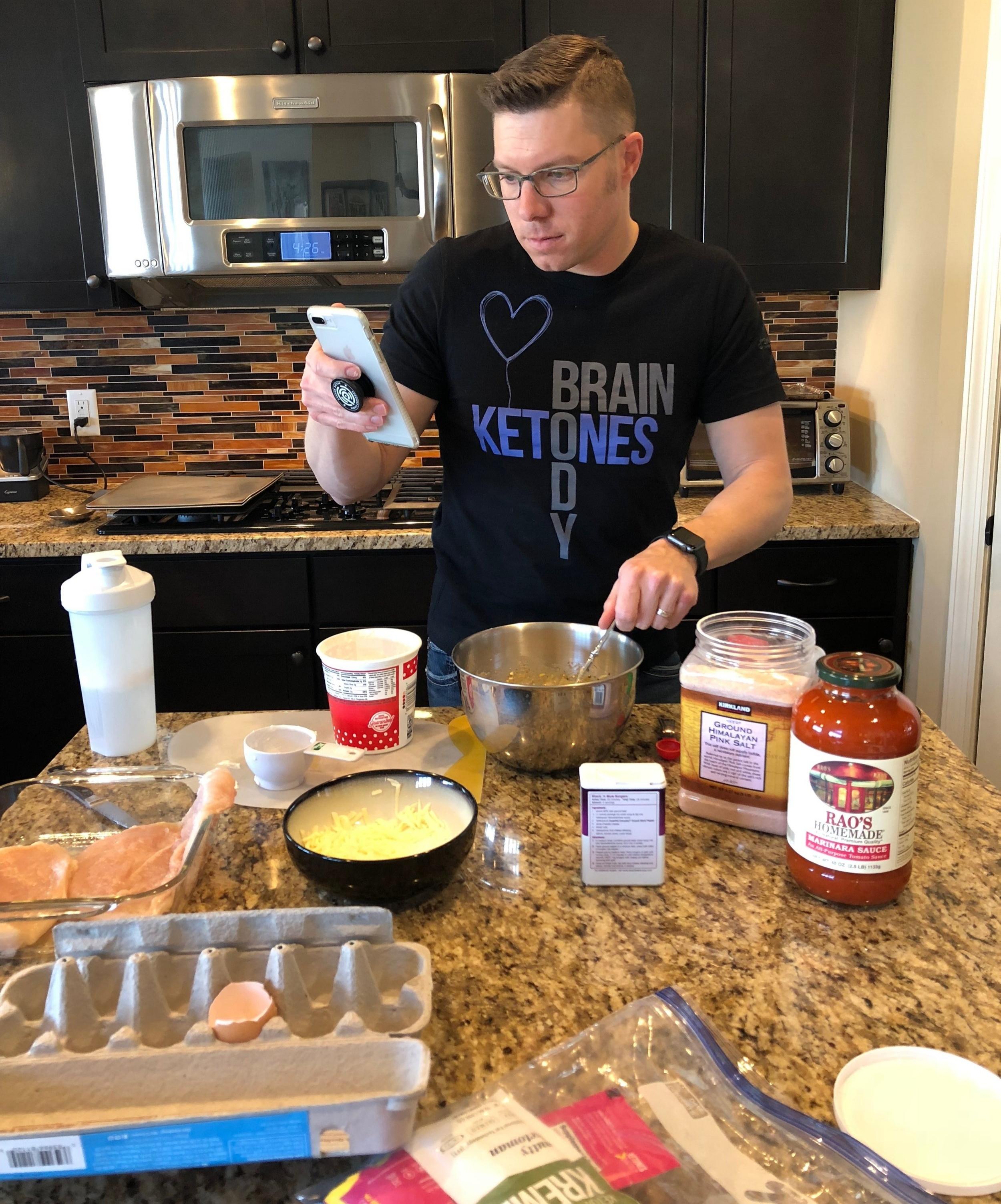 Easy Keto Chicken Lasagna