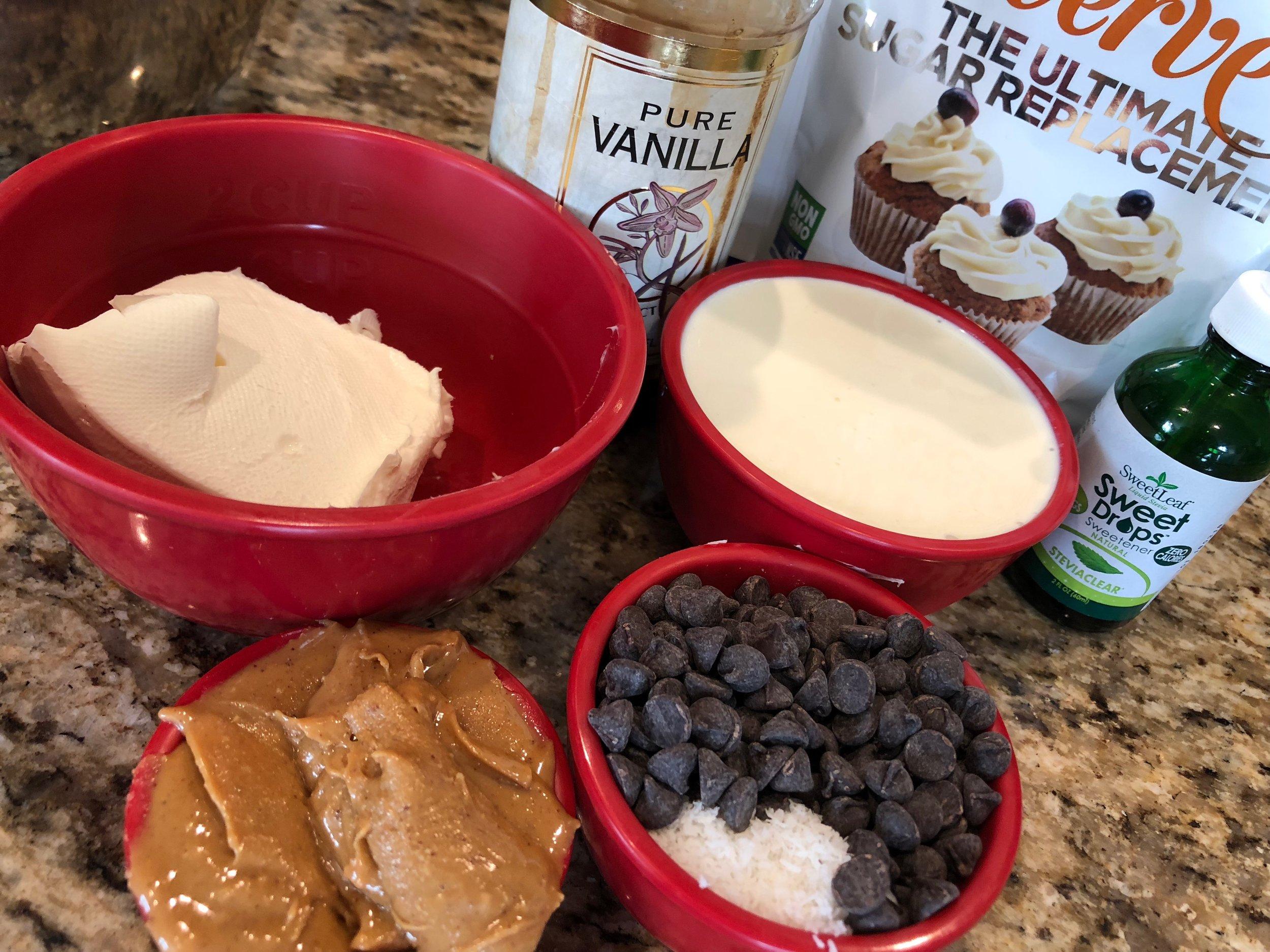 Keto Dessert Recipe Peanut Butter Coconut Mousse