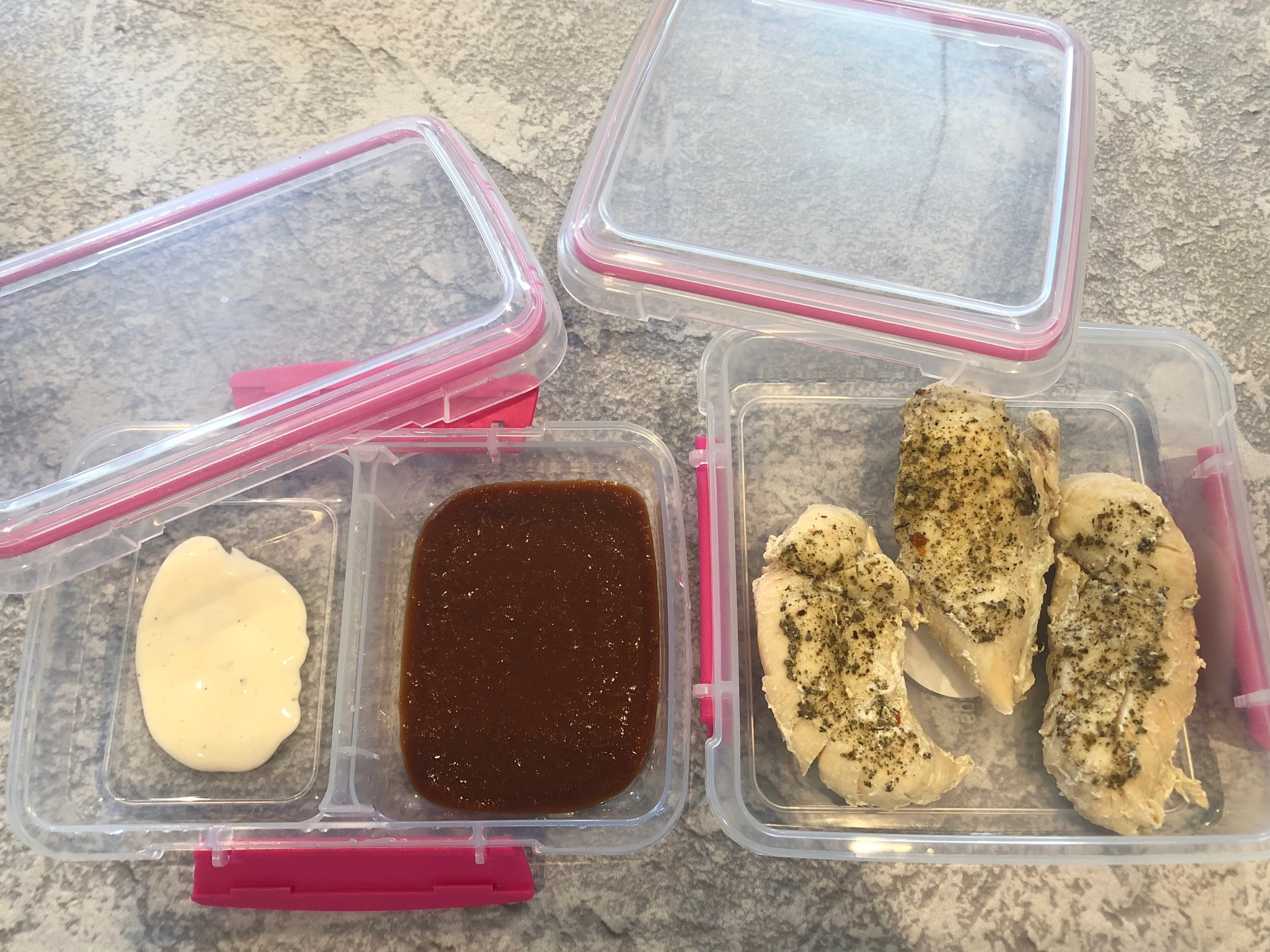 School lunches chicken tenders keto and low carb