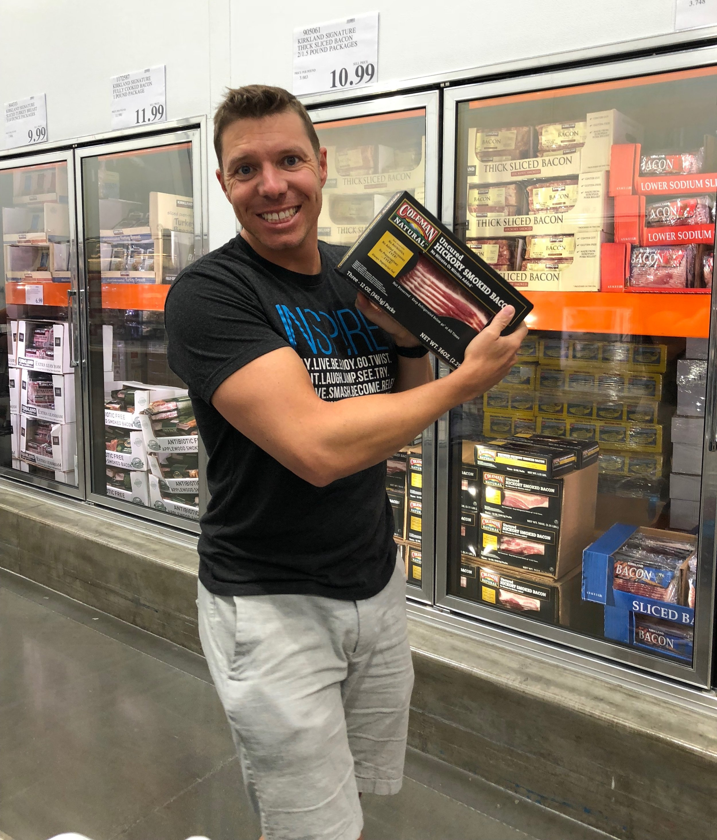The Keto Dad Costco grocery shopping list Bacon