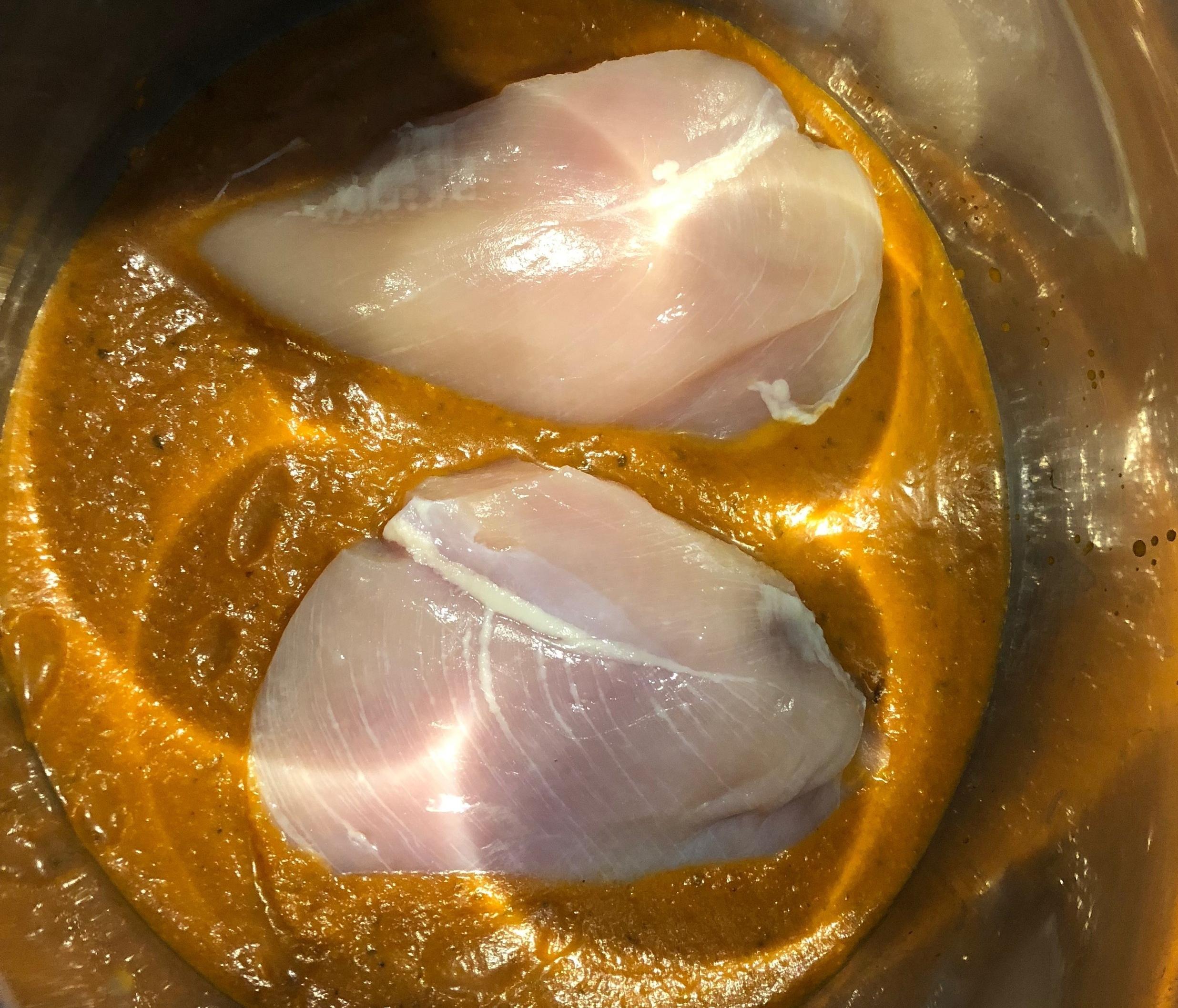 Keto Instant pot dinner recipe chicken