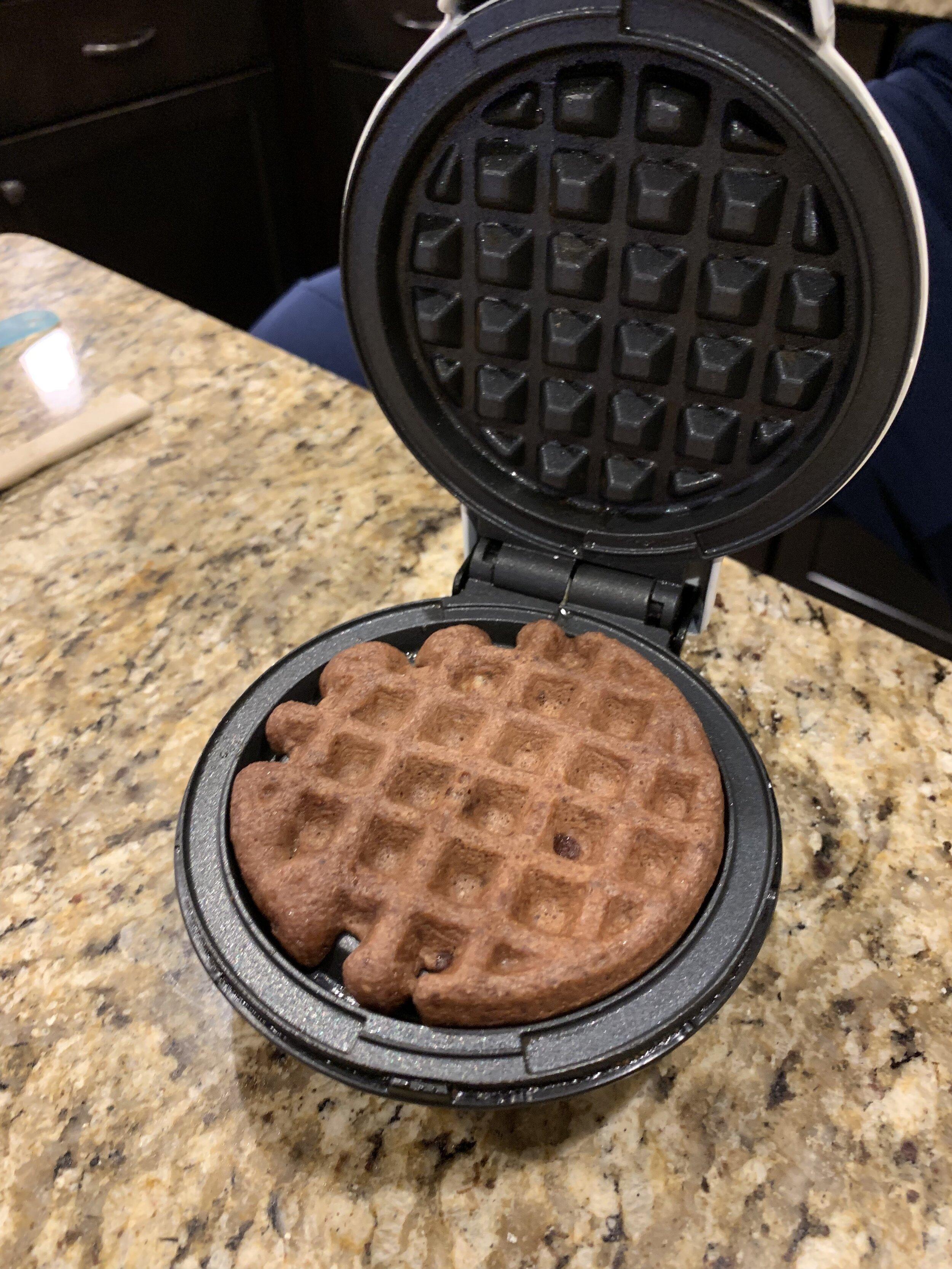 Keto Chocolate Oreo Chaffle Dessert Recipe