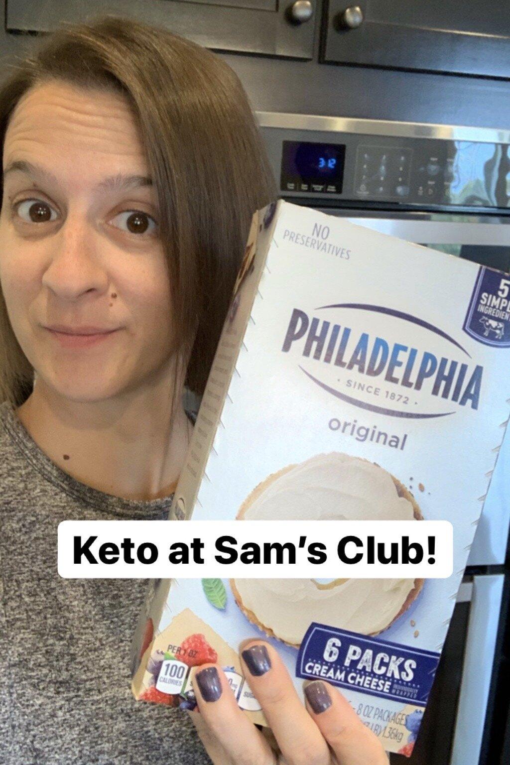 The Keto Dad Sam's Club grocery shopping list Bacon