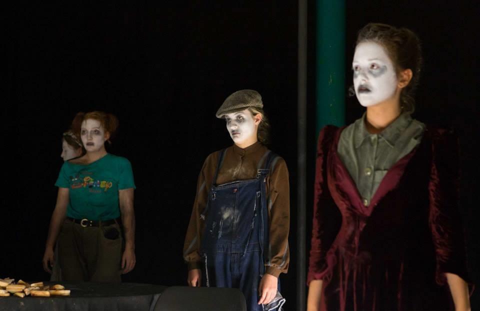 Bridget,  Old Gristle , Splutter Theatre Company, Edinburgh Fringe, 2014, dir. by Benedict Husdon.