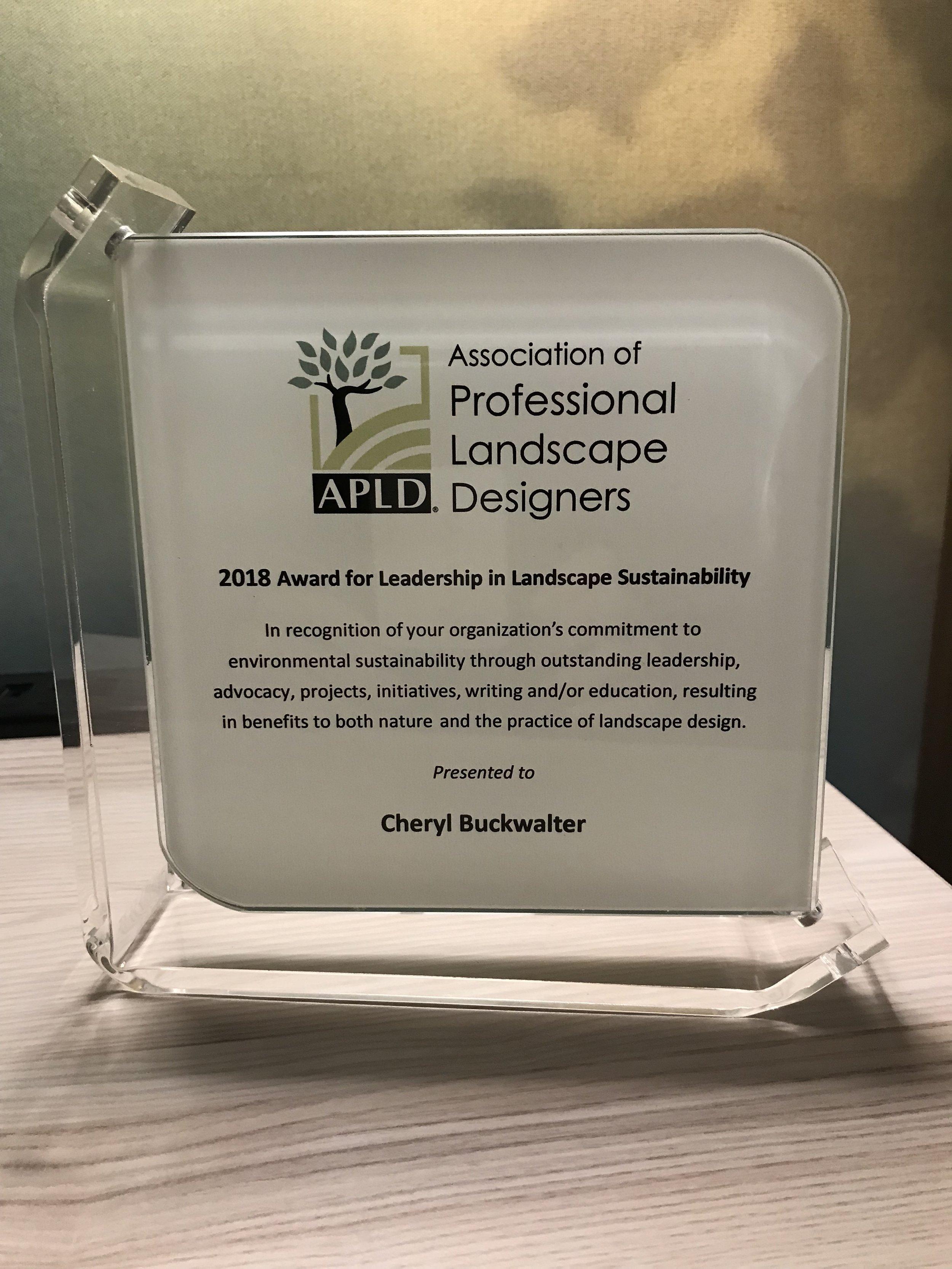 APLD Recognition Award.jpg