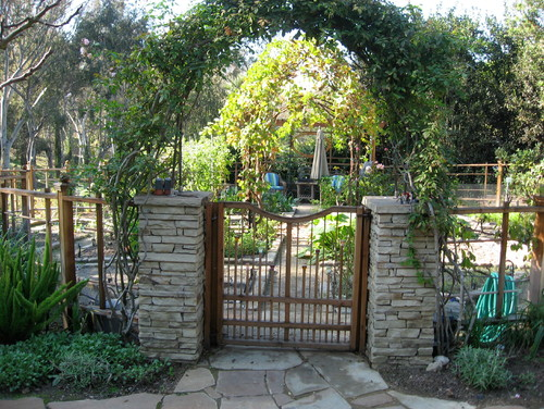 I designed this custom fence and gate.