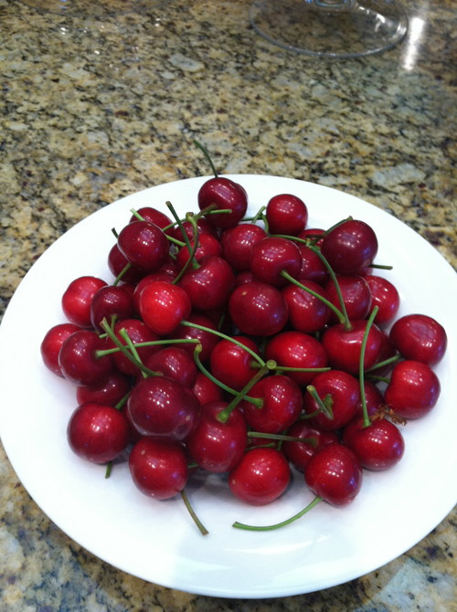 Life is a bowl of cherries. Cherries are easily grown in San Diego with the new varieties recently introduced. They taste as good as they look.