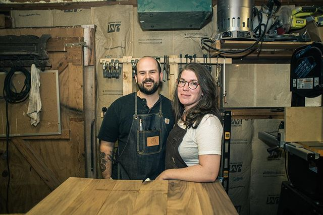 We launched this business weeks before our youngest son was born, before the end of the last administration, before our oldest started high school, while our middle son was trying out tuba (for a semester.) Bill left the best paying job he'd ever had and I went through postpartum blues all while we scrambled to meet our first deadline. Sleep was a dream. We're still learning so much about how to make this work for our family, but we're doing it together. And every piece we make carries a part of our story, our values, and likely some blood, sweat, and/or tears in the final product. It continues to amaze me how many people continue to carry on these pieces into their own lives. Thank you for sharing this with us.