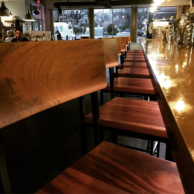 Some sub-par photos of a set of barstools in their new home at @dosenashville! Go have a seat at their Riverside Village location in East Nashville, TN and tell us what you think! Mahogany and Steel. #motherswoodshop #woodworking #nashville #nashvillemakers #interiordesign #make #custom #design #furniture #ModernDesign #InteriorArchitecture #InteriorDecoration #ModernFurniture #Contemporaryfurniture #FurnitureDesign #Woodwork #apartmenttherapy #Designmilk #homedecoration #contemporaryfurnituredesign #architecturedesign #interiorarchitect #moderndesignfurniture #interiorlovers #home #designinspiration #modernhome #interiorstylist #homeinspiration
