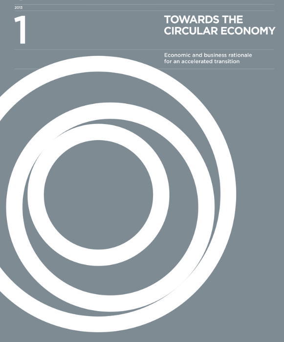 Towards the Circular Economy Vol. 1: an economic and business rationale for an accelerating transition - Författare: The Ellen MacArthur FoundationPublicerad: 2012Den första rapporten som Ellen MacArthur Foundation släppte om cirkulär ekonomi.Using product case studies and economy-wide analysis, this report details the potential for significant benefits across the EU. It argues that a subset of the EU manufacturing sector could realise net material cost savings worth up to US 630 billion p.a. towards 2025 - stimulating economic activity in the areas of product development, remanufacturing and refurbishment.Läs rapportern här >>
