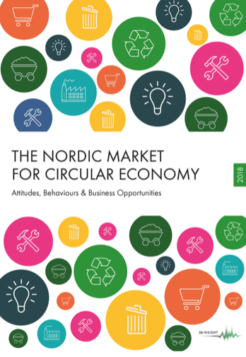 The Nordic Market for Circular Economy - Författare: SB InsightPublicerat: 2018The report contains many exciting news! The report builds on SB Insight's circular economy report from 2017, taking it one step further. In addition to an analysis of the changes in the market from the previous year, more focus is placed on the outside world, trends and more in-depth insights about the thoughts and behaviour of consumers and decision makers, as well as the challenges and opportunities they face when it comes to circular economics.The reports are based on surveys performed in Sweden, Norway, Finland and Denmark. We have interviewed consumers and corporate decision makers (B2B) about their views on Circular Economy and its components.Medlemmar i Cradlenet får rabatt på SB Insights rapporter.Läs mer och beställ här >>