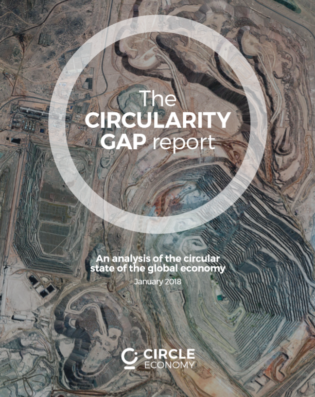 The Circularity GAP report, 2018 - Författare: CircleEconomyPublicerat: 2018Our world is only 9,1% circular, leaving massive