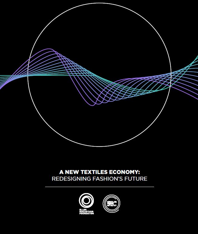 A NEW TEXTILES ECONOMY; REDESIGNING FASHION'S FUTURE - Författare: The Ellen MacArthur Foundation i samarbete med ex. H&M, Nike, Mistra Future Fashion, med flera.Publicerad: 2017This seminal report lays out a vision for a system that not only puts a stop to these damaging trends, but also summons the creative power of the fashion industry to develop a new textiles economy. In such a system, clothes are designed to last longer and be worn more. New business models allow clothes to be rented, resold, or recycled more easily. And no toxic substances or pollutants are released when clothes are produced and used.Läs rapporten >>