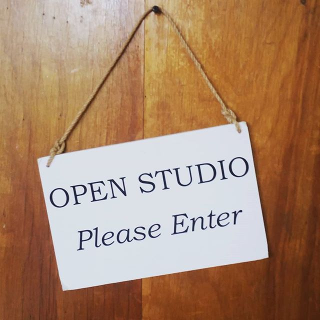 I'll be in my studio working on some new pieces for my June showcase. Come visit me!  #art #studio