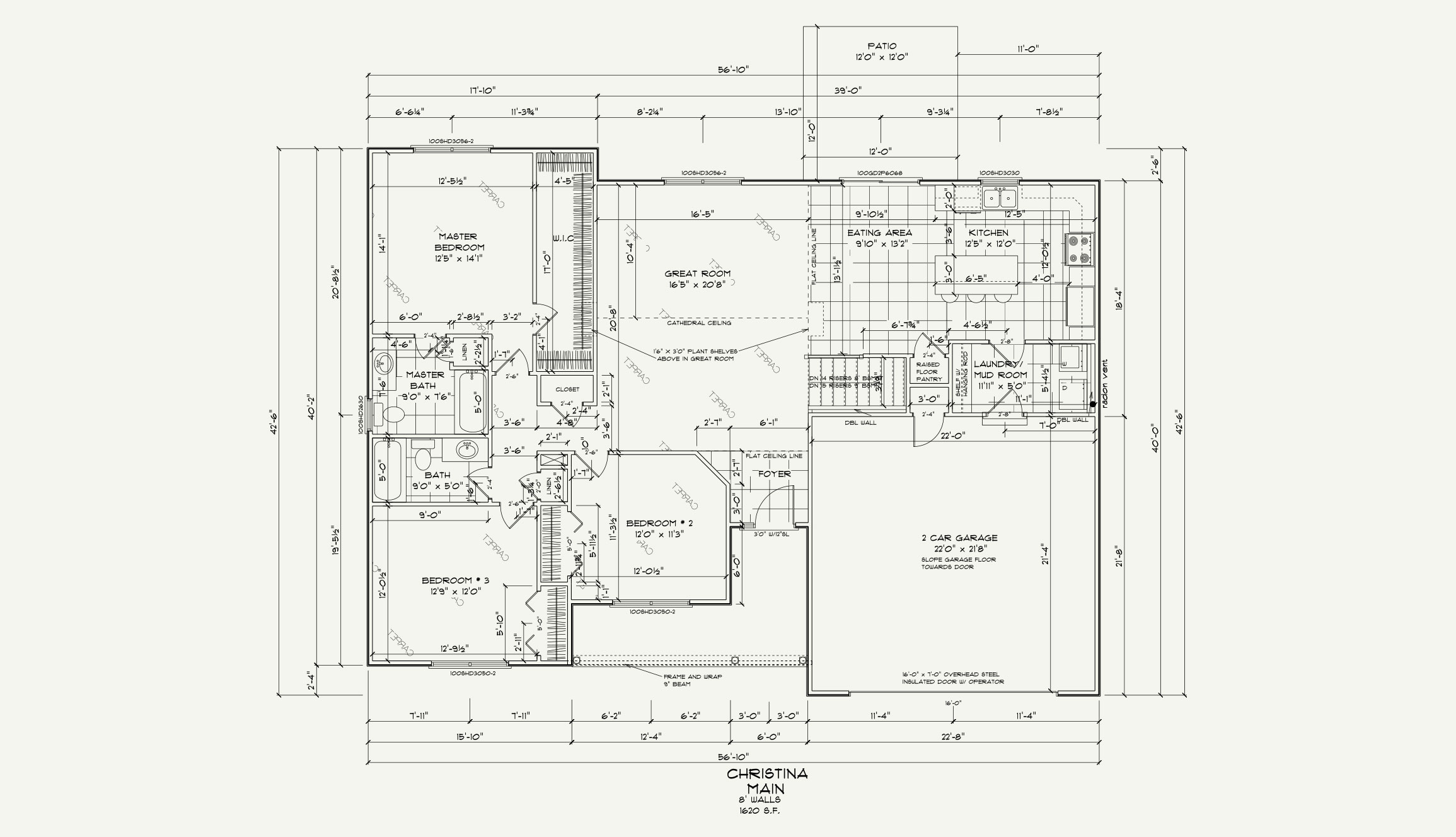 Christina Floor Plan