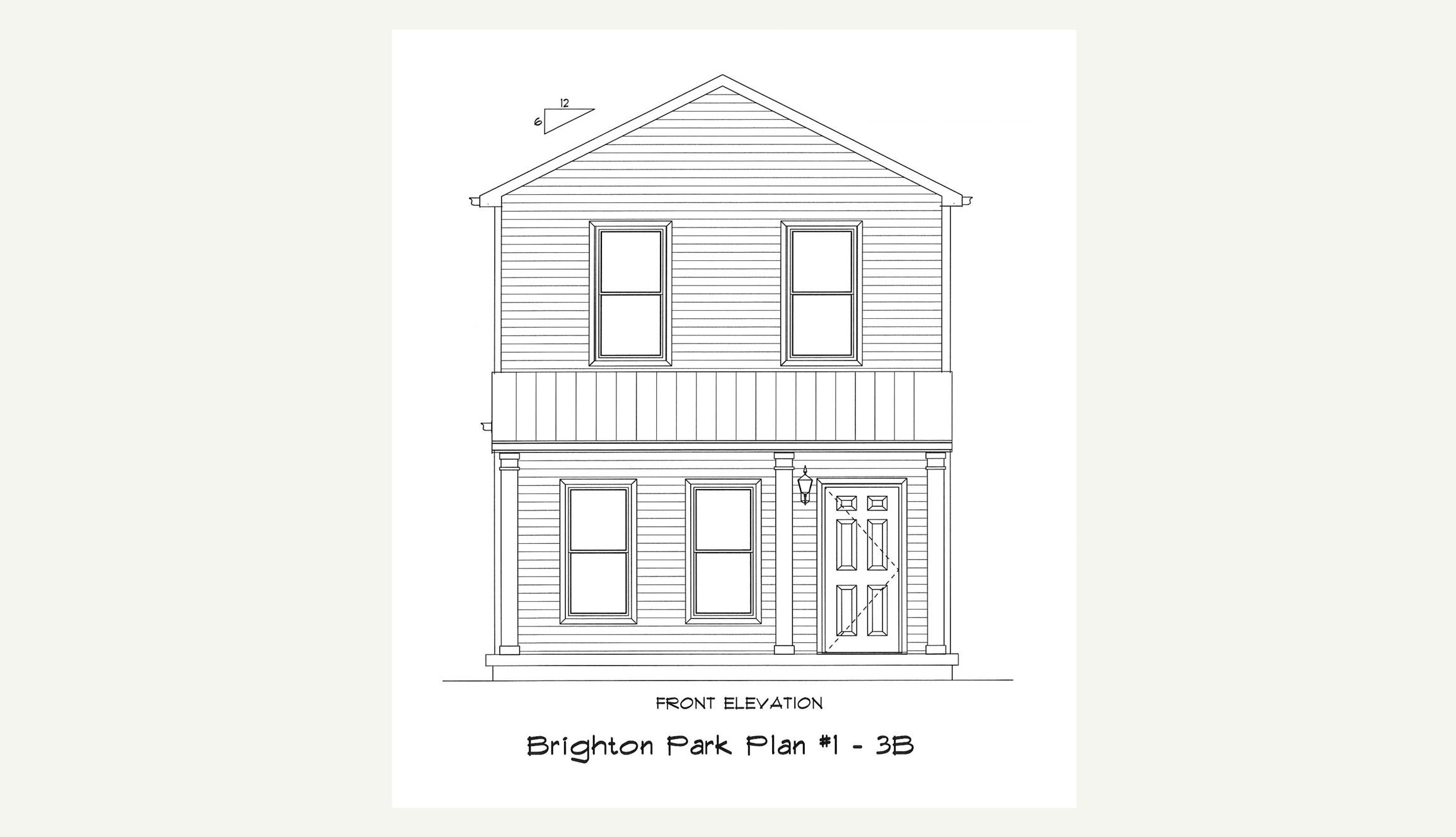 Plan 1 — 3 Bed