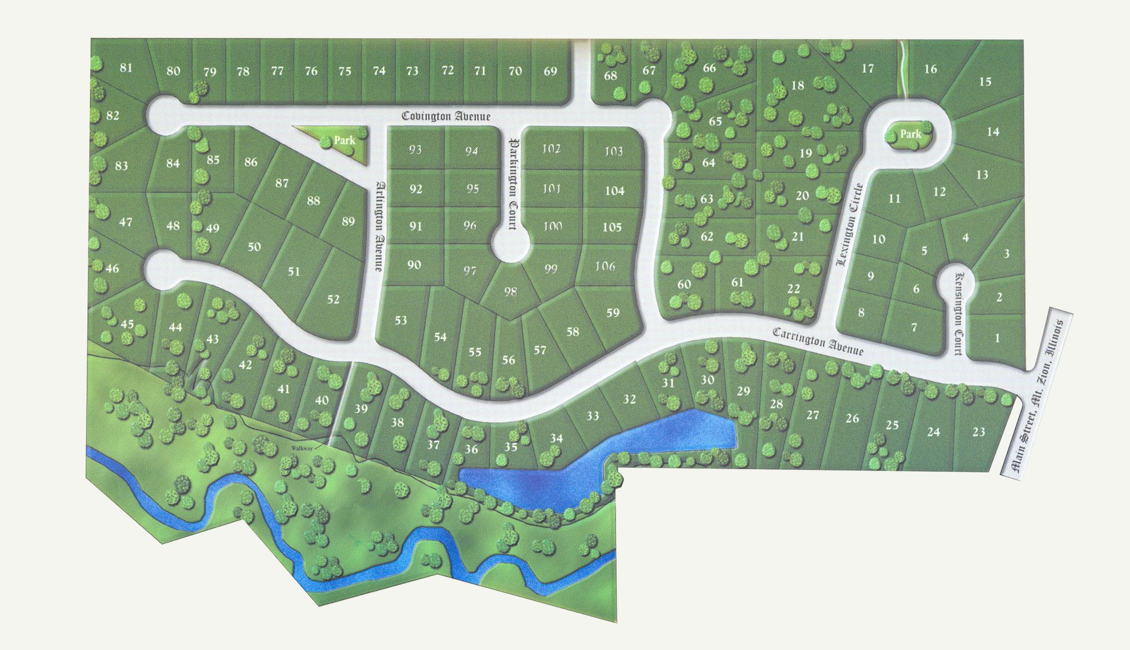 Carrington estates -